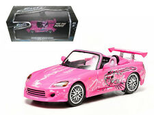 SUKI'S 2 FAST AND 2 FURIOUS 2001 HONDA S2000 PINK 1/43 BY GREENLIGHT 86225