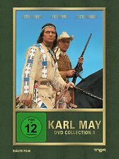 Karl May Winnetou Collection II (3-DVD Box Set) Pierre Brice, Götz George NEW