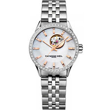 RAYMOND WEIL Freelancer Diamond AUTO Ladies Watch 2410-STS-97981 RRP £2395 - NEW