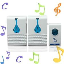 Home Wireless 32 Tune Songs Remote Control Chime Doorbell Door Bell 100M Range