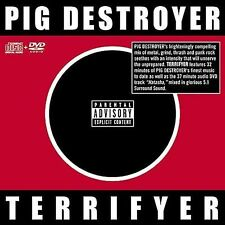 FREE US SH (int'l sh=$0-$3) NEW CD Pig Destroyer: Terrifyer (Bonus Dvd) (Edco)