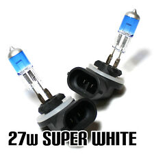 2x H27W/2 [881] 27w Super White Xenon Headlight Bulbs 12v XE1