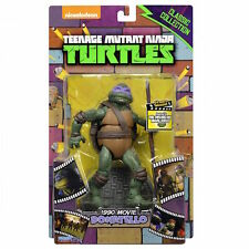 Teenage Mutant Ninja Turtles 1990 rara figura de colección clásica Donatello