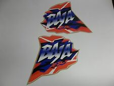 HONDA BAJA XR200 HONDA XR250 XR 200 400 600 FUEL TANK GAS TANK DECALS GRAPHICS