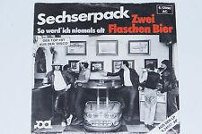 """SECHSERPACK -Zwei Flaschen Bier- 7"""" 45"""