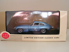 LLEDO VANGUARDS GOLD JAGUAR E TYPE   1:43 SCALE