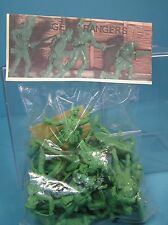barzso rogers' rangers 54mm plastic bagged approx 15 unpainted figs1998 mib oop