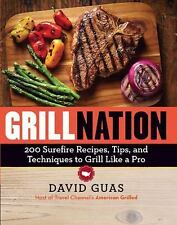 NEW Grill Nation by David Guas Paperback Book (English) Free Shipping