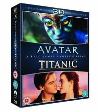 AVATAR/TITANIC 3D REGION B (NEW BLU-RAY)