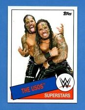 The Usos 2015 Topps WWE Heritage #98
