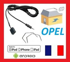 Cable aux jack MP3 pour autoradios d'origine Opel + 2 cles extraction