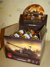 WOT WORLD OF TANKS 9 Chocolate Eggs Balls with Surprise Collectible Toys
