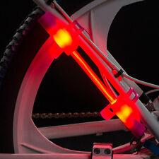 LED Fibre Flare Cycling Safety Light + LED Snap Bracelet Armband Special Pack