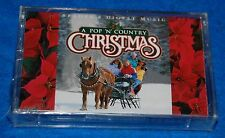 A Pop 'N' Country Christmas Tape 3, Cassette, New, Factory Sealed