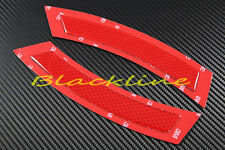 07~12 BMW E92 E93 3 Series Coupe Front Bumper 3M Red Reflector Side Marker 335i