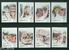 Old streets and alleys mnh set of 8 stamps 2015 Macau