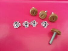 Grandfather or Grandmother Clock Leveling Feet (4)