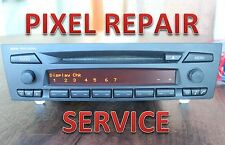 BMW E90 E92 E93 E88 RADIO CD PLAYER HI-FI CD73 PROFESSIONAL PIXEL REPAIR SERVICE