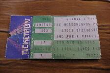 TICKET BRUCE SPRINGSTEEN 1985 USA