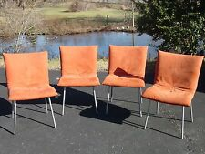 Pascal Mourgue for LIGNE ROSET France CALIN Dining Chairs ~ Set of 4