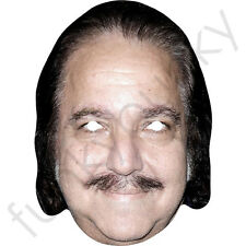 Ron Jeremy Porn Star Celebrity Card Face Mask - All Our Masks Are Pre-Cut!