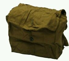 Lot 2 Russian Army Surplus Vintage Haversack Bags Ammo Reinactment Gas Mask Case