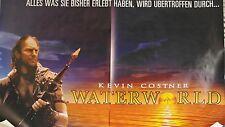 (Gerollt A00 - K192) Kinoplakat - WATERWORLD - Kevin Costner - QUER 120 x 160 cn