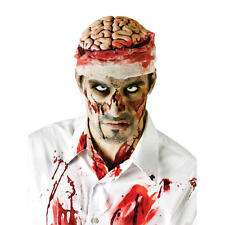 ZOMBIE BRAIN HAT HEAD Topper Halloween Horror Costume sanguinosa BENDE sangue