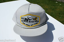 Ball Cap Hat - British Columbia Road Builders Valley Rentals Golf 1992 (H1027)
