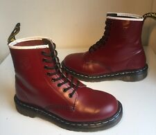 Rare! Sz6 Vtg England Dr. Martens 1460 West Ham Limited Edition Leather Eu39
