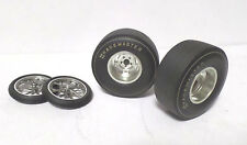 Dragster Wheel & Tyre Set of 4 - ACME 1:18 scale SPECIAL PRICE