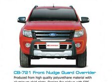 FRONT GRILLE NUDGE GUARD BUMPER FOR FORD RANGER T6 UTE WILDTRAK XLT 2012-15 4WD