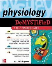 Physiology Demystified by Layman, Dale, Good Book