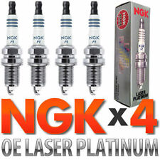 VW/Audi NGK Double Platinum Spark Plugs New 4 Set for Turbo 1.8T/2.0T 2004-2012