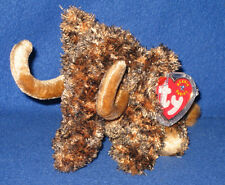 TY GIGANTO the WOOLY MAMMOTH BEANIE BABY - MINT with NEAR MINT TAG