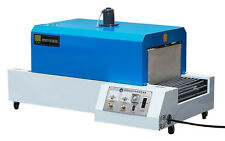 110 VOLT SHRINK TUNNEL BS-B200 CONTINUOUS CONVEYOR TABLETOP PACKAGING MACHINE