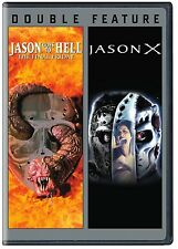 JASON GOES TO HELL: THE FINAL FRIDAY / JASON X  FRIDAY THE 13TH 9/10  2 DVD R1