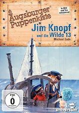 AUGSBURGER PUPPENKISTE - JIM KNOPF UND DIE WILDE 13   DVD NEU