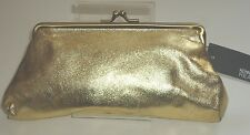 Kenneth Cole Ladies Evening Bag Wedding Purse Bridal Prom, Party Bag, GOLD