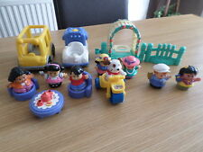 FISHER PRICE LITTLE PEOPLE MIXED LOT FIGURES ETC FREE POST