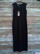 "Episode BNWT Sleeveless Black 100% Wool Dress (Size: UK 6:  30-32"" Chest)"