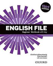English File  Beginner Workbook WITH KEY Third Edition Oxford OUP ***NEW***