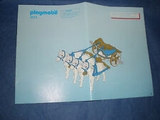 Playmobil 4274 Quadriga Bauplan Instruction plan only plan nur der Plan