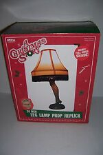 "A Christmas Story Prop Replica 20"" Fishnet Stocking Leg Lamp Neca New in box!"