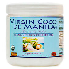Organic ManilaCoco 100% Virgin Coconut Oil NoBlend FRESH Nutrient Dense raws16oz