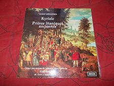 chant grégorien  Kyriale  saint pierre de Solesmes J. Gajard  Decca n° 150.002