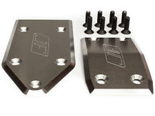 Losi 5IVE-T and MINI WRC skid plate set in RAW aluminum  By JOFER USA