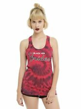 Black Veil Brides Red Tie Dye Girls Tank Top LArge Andy Biersack