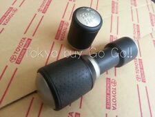 FJ Cruiser Silver & Black Gray Shift Knob & Transfer Lever set Genuine OEM Parts