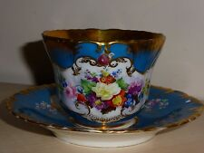 Popov Popoff tea cup saucer Russian Imperial porcelain N2